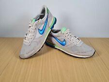 Nike Air Venture Vector UK 9.5 (EU 44.5) Mens Silver Blue Green Trainers Rare