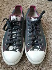 converse all star vintage worn skull bones 8.5m