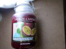 Yankee Candle USA RARE BRAZILIAN fruit de la passion GRANDE JAR