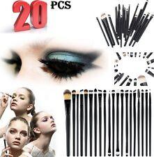 20 Piezas De Maquillaje Profesional juego de brochas Fundación Cepillos Kabuki Pinceles para Maquillaje