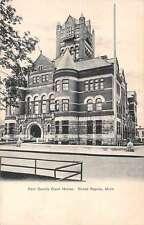Grand Rapids Michigan Kent County Court House Antique Postcard J65868