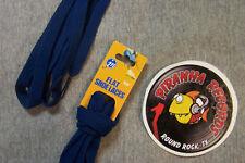"Navy Blue Thin Flat 54"" x (3/8""-5/8"") JN Shoelaces Shoe Strings Piranha Records"