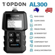 TOPDON Auto OBD2 Diagnostic Car Code Reader Scanner Reset Scan Tool For Holden