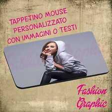 TAPPETINO MOUSE PAD PERSONALIZZATO CON IMMAGINI FOTO TESTI GADGET PUBBLICITA'