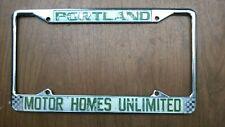 Motorhomes Unlimited of Portland, Oregon Frame