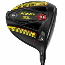 Left Handed Cobra King SpeedZone Black/Yellow 9* Driver Stiff Graphite Mint