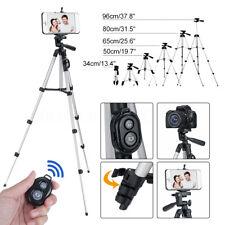 Trépied Longue Standard Télécommande bluetooth Support de Caméra Téléphone