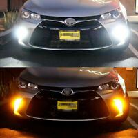 2Pcs For 2015-2017 Toyota Camry Switchback LED Bulbs Turn Signal Light