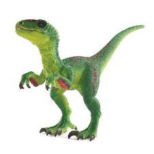 Schleich Dinosaurier 14530 Velociraptor, Grün-