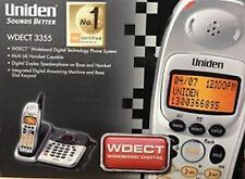 NEW UNIDEN WDECT 3355  CORDLESS PHONE SYSTEM