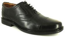 Calzado de hombre Zapatos de vestir con cordones de color principal negro de piel