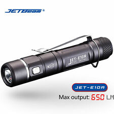 Jetbeam E10R CREE XP-L HI LED 650 Lumens USB Rechargeable AA Flashlight Torch