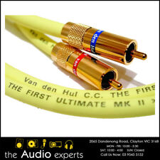 VAN DEN HUL The First Ultimate MKII RCA Digital Coaxial Cable - 1m pair