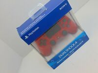 Sony DualShock 4 (3001549) Wireless Controller for PlayStation 4 - Magma Red