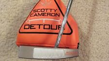 MINT SCOTTY CAMERON  DETOUR PUTTER WITH BABY T GRIP- 30 GM WEIGHT - RH - 34""