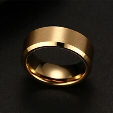 steel Black Rings For Women Fashion Charm Jewelry ring men stainless