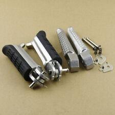 Front & Rear Footrest Foot Pegs Honda Hornet 600 CB600F CB750F CB900F CB1000F