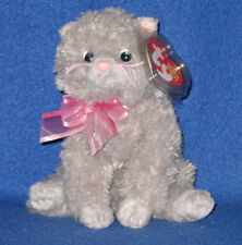 TY FLUFF the CAT BEANIE BABY - MINT with MINT TAGS