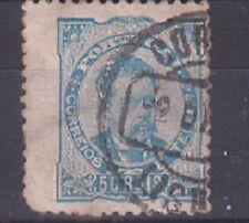 PORTUGAL 1882 SG236 50r blue. used