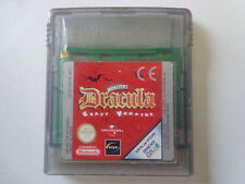 Gameboy Color Jeu-Universal Studio Monsters: Dracula-Crazy Vampires (Module)