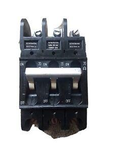 3 phase Heinemann circuit breaker 20A 3pole