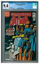 Detective Comics #528 (1983) Bronze Age Batman CGC 9.4 AA404