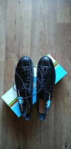Rare Vintage detto pietro Art.76 PLUME Cycling Shoes Size 43.