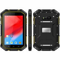 """7"""" Unlocked Android 9.0 4G LTE Rugged Smartphone Builder Phone Tablet Mobile NFC"""