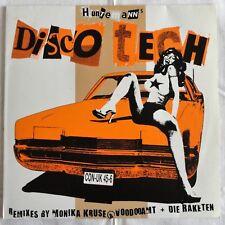 "Huntemann's -  Discotech, 2003, 12"" Vinyl, Confused Recordings - CON-UK 45-6"