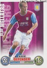OLOF MELLBERG # SWEDEN ASTON VILLA CARD PREMIER LEAGUE 2008 TOPPS