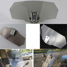 Windscreen Deflector Extension Windshield Screen Spoiler For BMW R1200GS LC Gray