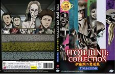 Junji Ito Collection (Chapter 1 - 12 End) ~ 2-DVD ~ English Dub Version Anime ~