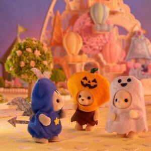 Sylvanian Families Calico Critters Baby Trick or Treat Trio Halloween Set