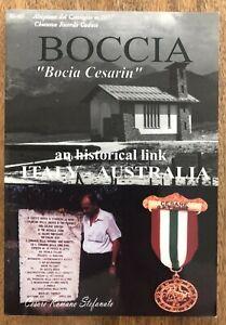 The Boy Partisan An Historical Link Italy Australia German Nazis WWII Boccia