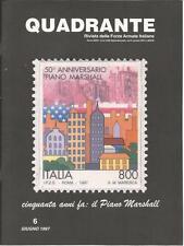 QUADRANTE RIVISTA DELLE FORZE ARMATE ITALIANE 6 GIUGNO 1997