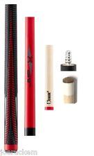NEW Poison VX4  VX4-JMP-R Red & Black Jump Cue - Sport Grip