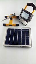 Faretto ad energia Solare da cantiere a Led faro portatile fotovoltaico lampada