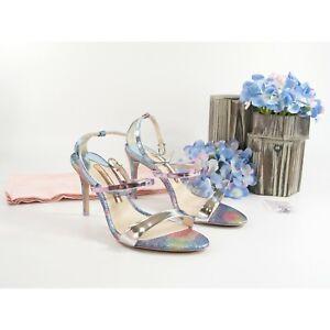 Sophia Webster Rosalind Mermaid Glitter Metallic Leather Heels Size 36.5 6.5 NIB