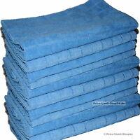 10 Premium Microfaser Tücher XL Tuch Mikrofaser Poliertücher Boden 50 x60cm Grau