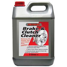BRAKE AND CLUTCH CLEANER ELIMINATES BRAKE SQUEAL 5L (Polygaurd/Polygard)