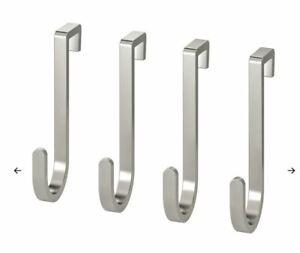 Genuine 4 IKEA RIMFORSA hang Hook stainless steel Store Kitchenware shoop pup10