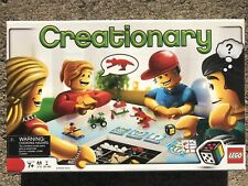 Creationary Lego Board Game #3844-Discontinued