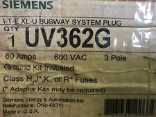 SIEMENS UV362G XL-U BUSWAY PLUG *NEW IN BOX*