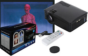ProFX Projector Kit w/ Screen Halloween Christmas Digital Window Projection