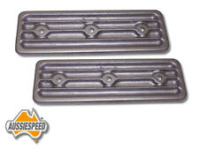 holden 6 alloy side plates finned style torana 179, 186, 202 Australian made RAW
