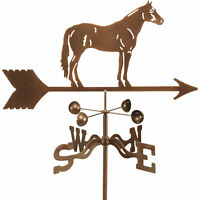 EZ Vane Outdoor Home Decor Quarter Horse Stallion Garden Mount Metal Weathervane