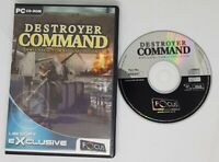 Destroyer Command WWII Naval Combat Simulation Pc Cd Rom VGC FAST FREE POST