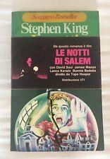 LE NOTTI DI SALEM STEPHEN KING SONZOGNO PRIMA ED.1979 CON FASCETTA INTROVABILE