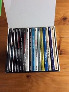 """THE ROLLING STONES """"REMASTERED SERIES"""" box 16 cd SACD Rare"""