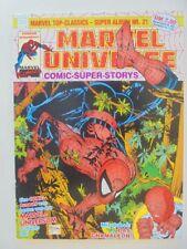 MARVEL TOP-Classics-SUPER ALBUM Nº 21 Marvel Universe-état 1/1 -